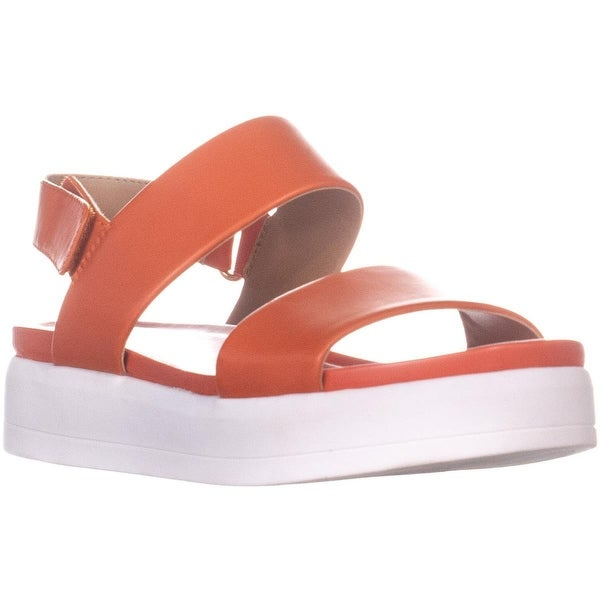 439ca06a292 Shop Franco Sarto Kenan Platform Wedge Sandals, Tangerine - 8.5 us ...