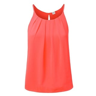 NE PEOPLE Womens Halter Neck Chiffon Flowy Cami Tank Top [NEWT261]