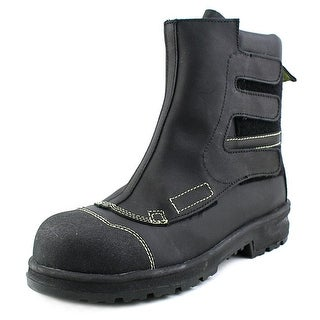 Blundstone 881 Men Round Toe Leather Black Boot