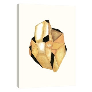 """PTM Images 9-105710  PTM Canvas Collection 10"""" x 8"""" - """"Faceted Gem Topaz"""" Giclee Abstract Art Print on Canvas"""