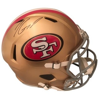 bc6cb9905 Shop Jimmy Garoppolo Autographed San Francisco 49ers Signed Full Size Speed  Football Helmet TRISTAR COA - Free Shipping Today - Overstock - 21870793