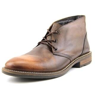 Naot Pilot Men  Round Toe Leather Brown Chukka Boot