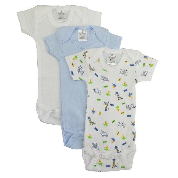Bambini Preemie Boys Short Sleeve Printed Variety Pack - Size - Preemie - Boy