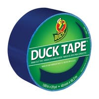 Duck Tape Colored Duct Tape, 1.88 in x 20 yd, Blue