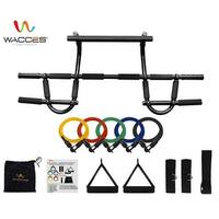Wacces Chin-Up & Pull-Up Bar + Including Five (5) Resistance Bands