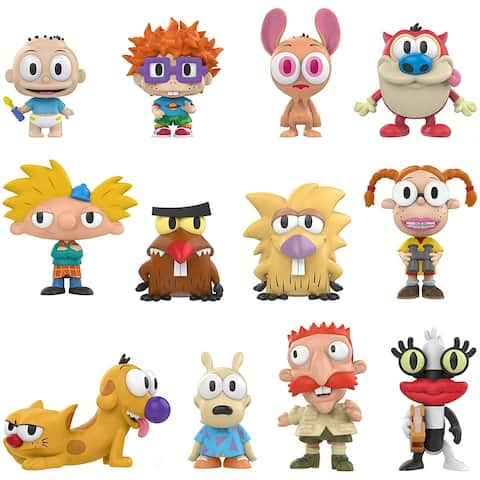 Funko Mystery Minis 90's Nickelodeon 90's Nickelodeon one Mystery Figure Collectible Figure Multicolor