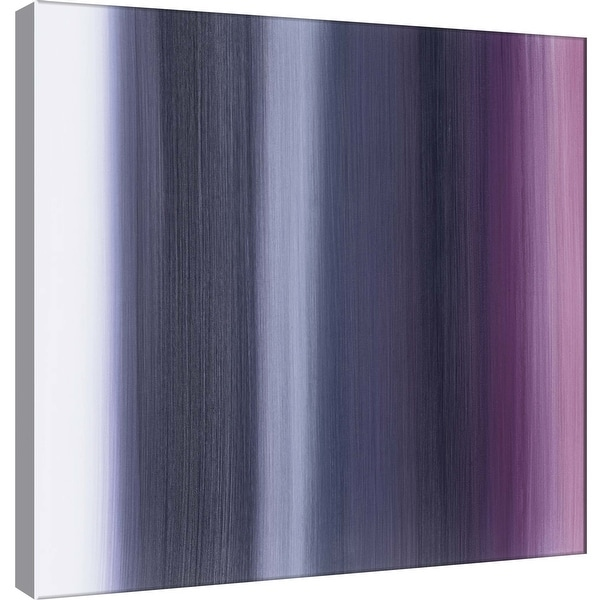 "PTM Images 9-100934 PTM Canvas Collection 12"" x 12"" - ""Royal Curtain A"" Giclee Abstract Art Print on Canvas"