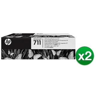 HP 711 DesignJet Printhead Replacement Kit (C1Q10A) (2-Pack)