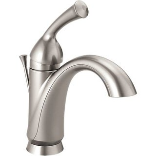 Delta 15999-DST Haywood Single Hole Bathroom Faucet with Diamond Seal Technology - Includes Pop-Up Drain Assembly and Optional
