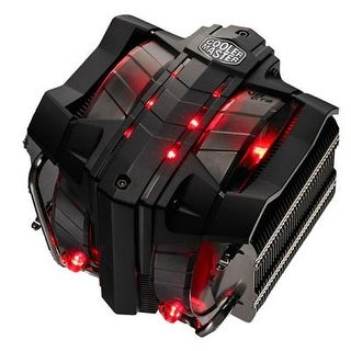 Cooler Master V8 Gts High Performance Cpu Cooler With Horizontal Vapor Chamber