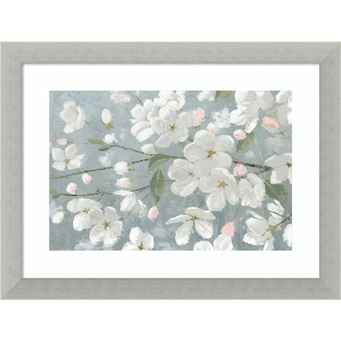 Spring Beautiful Crop (Cherry blossom) by James Wiens Framed Wall Art
