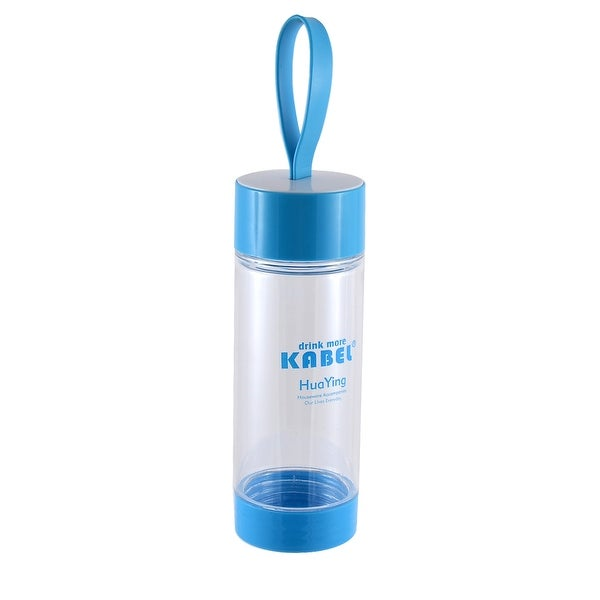 Portable Handhold Camping Drinking Cup Tea Water Bottle 480ML Blue