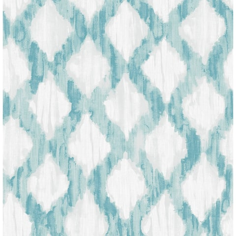 Brewster NU29 NuWallpaper 30-3/4 Square Foot - Floating - Self-Adhesive Vinyl Wallpaper