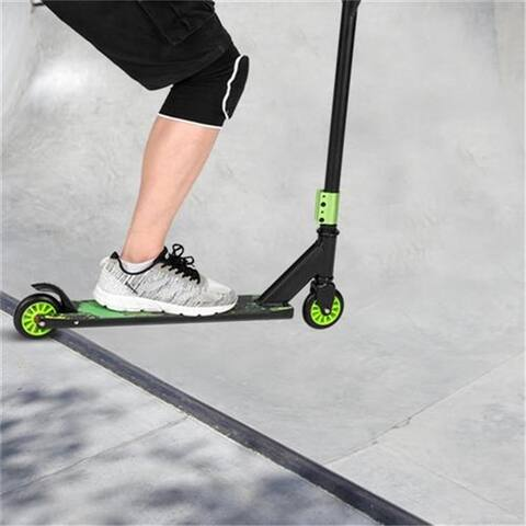Pro Scooter for Teens and Adults, Freestyle Trick Scooter Green