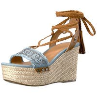 Tommy Hilfiger Womens Lovelle Open Toe Casual Espadrille Sandals