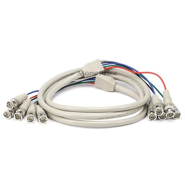 Monoprice 6ft 5-BNC RGB to 5-BNC RGB Video Cable