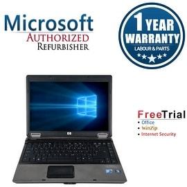 Refurbished HP Compaq 6530B 14.1'' Laptop Intel Core 2 Duo P8400 2.26G 4G DDR2 160G DVD Win 7 Pro 64-bit 1 Year Warranty