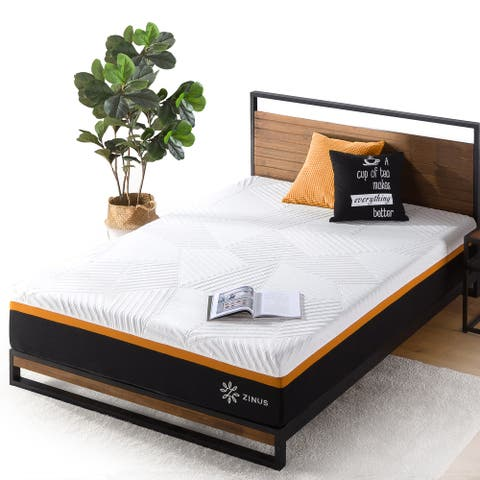 Priage by ZINUS 12 Inch Cooling Copper Adaptive Pocket Spring Hybrid Mattress