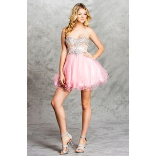 Strapless Tulle Fit & Flare