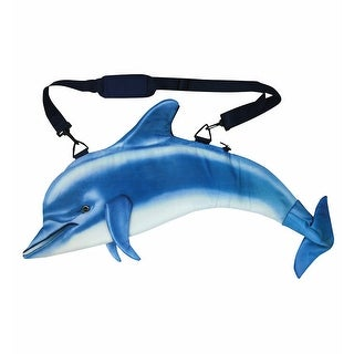 Women's Dolphin Aquatic Tote Bag - Blue - One size