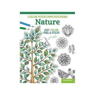 Design Originals Color Your/Sticker Nature Bk