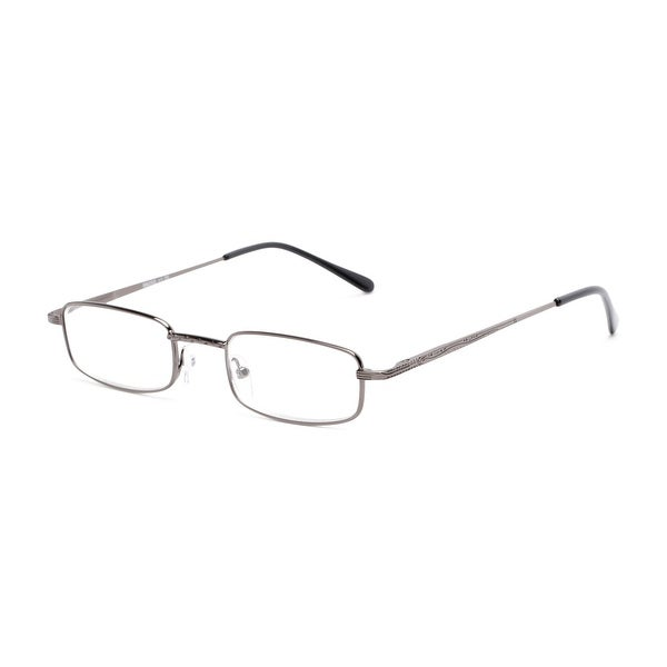 Readers.com The Jamison Rectangle Reading Glasses. Opens flyout.