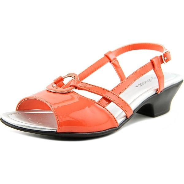 Easy Street Tempe Women WW Open Toe Synthetic Sandals