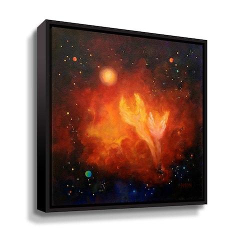 Angel's Ascending Floater Framed Canvas