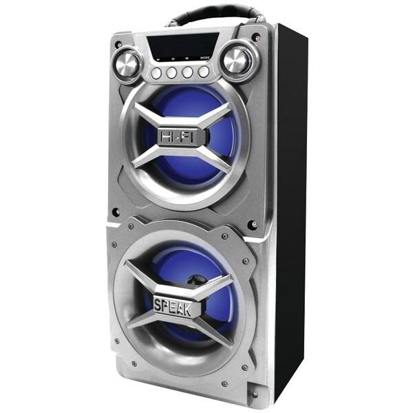 Sylvania Sp328-Silver Bluetooth(R) Speaker With Speakerphone (Silver)