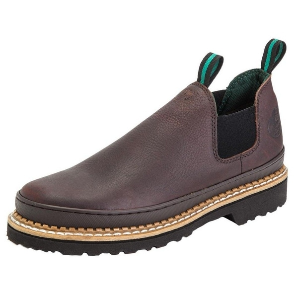 Georgia Boot Work Mens Giant Romeo Steel Toe Leather Soggy Brown