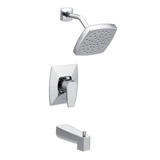Moen TS8713EP  Via Tub and Shower Trim Package with Single Function Rain Shower Head - Chrome