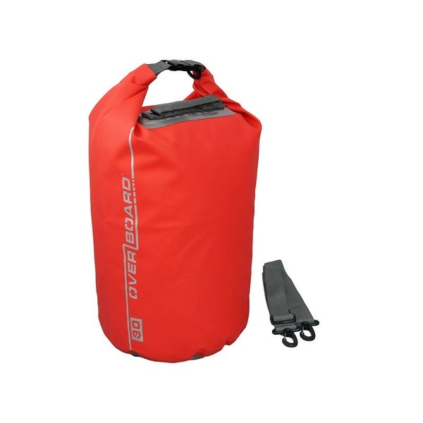 Overboard 30 Litre Dry Tube Red OB1006R