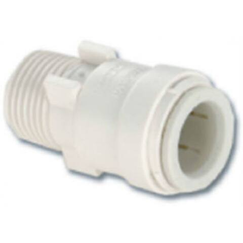 """Watts P-613 Quick Connect Male Pipe Thread Adapter, 1/2"""" x 3/4"""""""