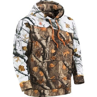 Legendary Whitetails Men's Big Game Camo Snowcap Performance Hoodie - field