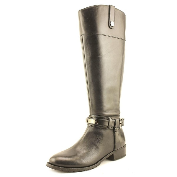 INC International Concepts Fabbaa Wide Calf Women Black Boots