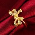 Love Knot Gold Ring - Thumbnail 2