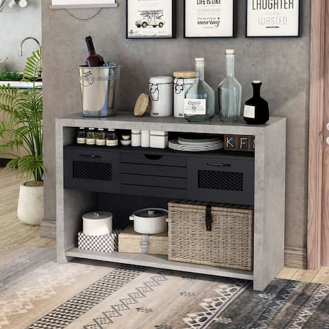 Furniture of America Tele Urban 1-drawer Rectangle Console Table