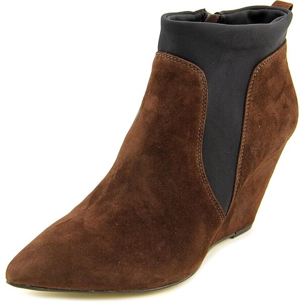 Bella Vita Deryn Women Pointed Toe Suede Ankle Boot