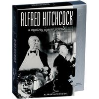 """Jigsaw Shaped Puzzle 1000 Pieces 23""""X29""""-Alfred Hitchcock"""