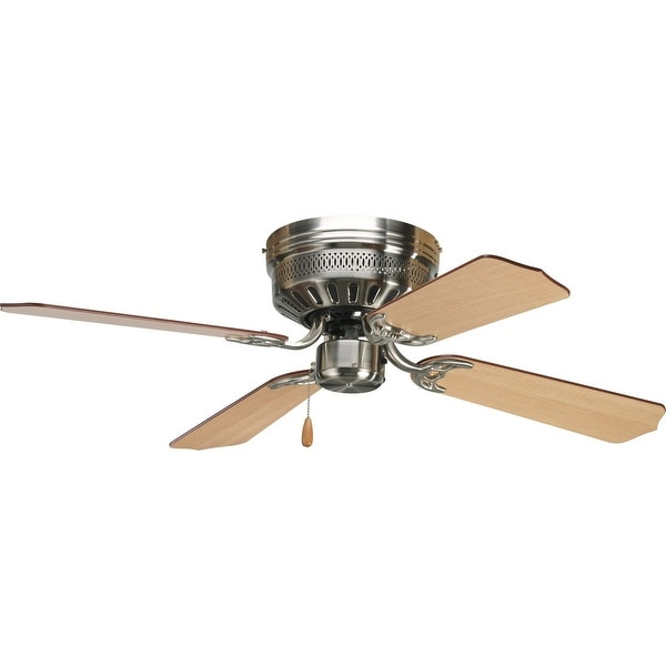 """AirPro Collection 42"""" Four-Blade Hugger Ceiling Fan - 7.940"""" x 19.960"""" x 12.500"""". Opens flyout."""