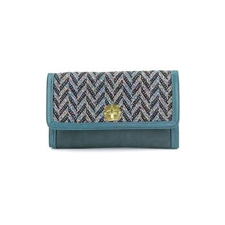 Shiraleah Dana Women Polyester Clutch NWT - Green