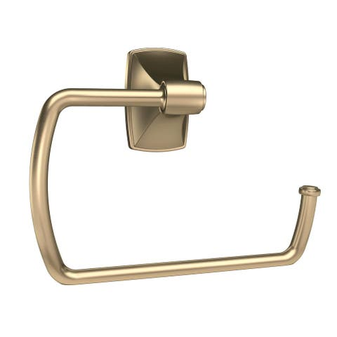 Clarendon 6-7/8 in (175 mm) Length Towel Ring in Golden Champagne - 6-7/8 in.