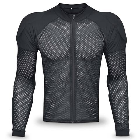 WICKED STOCK Potomac Protective Riding Shirt Armored CE Level 1 Mesh All season - Black