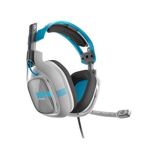 (Refurbished) ASTRO Gaming A40 Headset + Mixamp M80 - Light Grey/Blue - Xbox One