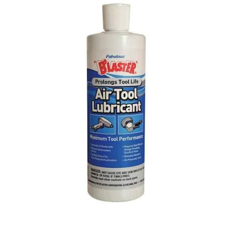 Blaster 16-ATL High Performance Air Tool Lubricant, 16 Oz, Liquid