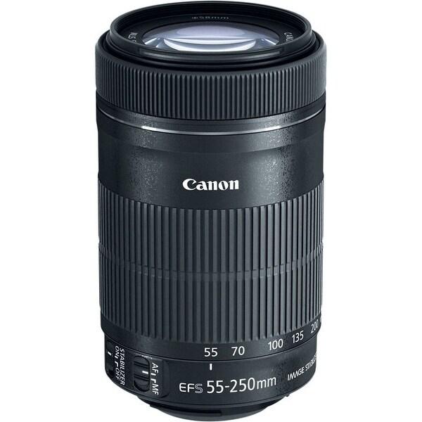 Canon EF-S 55-250mm f/4-5.6 IS STM Lens (International Model)