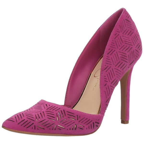 Jessica Simpson Womens Charie Pointed Toe D-orsay Pumps