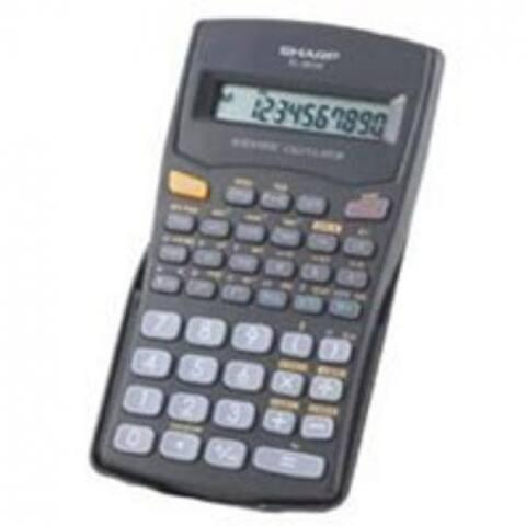 Sharp EL501WBBK Scientific Calculator, 10 Digit