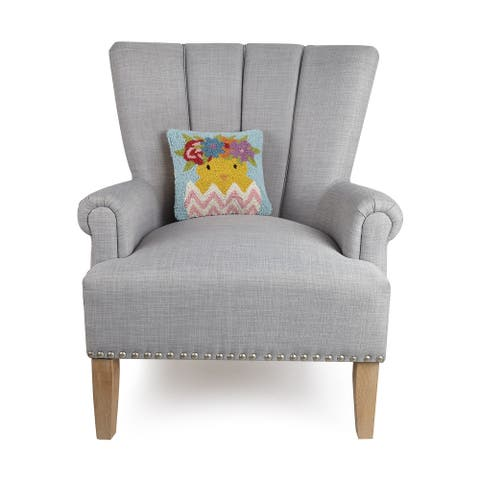 Easter Chick and Egg Pillow