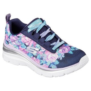 Skechers 81614 NVLV Girl's FUN FIT - FLEETING FANCY Sneaker